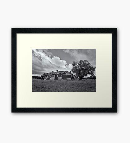 Duckholes Hotel Framed Print