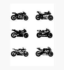 MotoGP 2017 Bikes Photographic Print