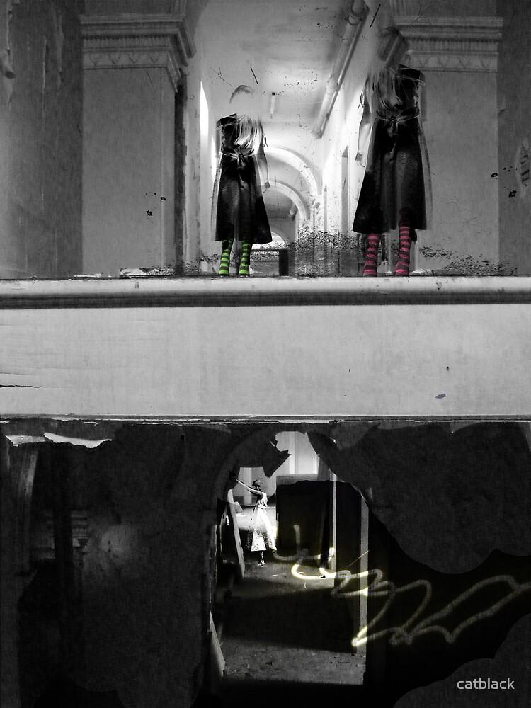 Scare me Hannah by catblack