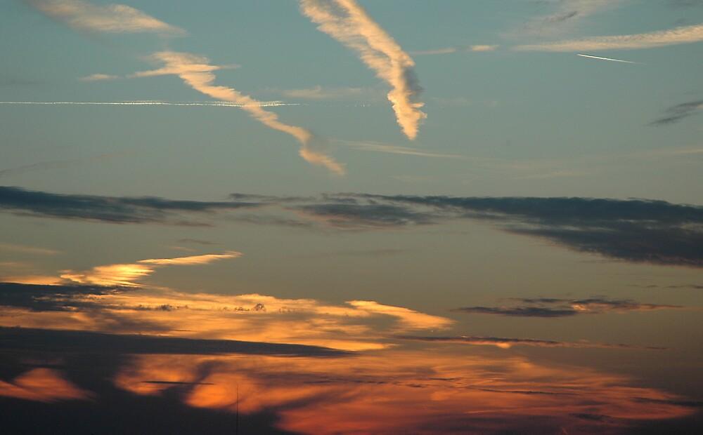 Sunrise Illusion by Jim Caldwell