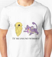 Hakuna matata - Pokémon Edition Unisex T-Shirt