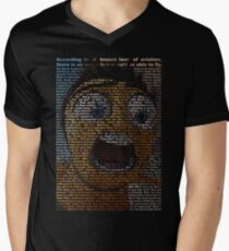 bee movie script Men's V-Neck T-Shirt