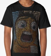 bee movie script Long T-Shirt