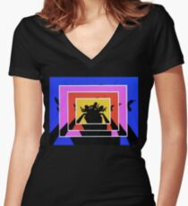 Charlies Angels Women's Fitted V-Neck T-Shirt
