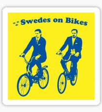 Swedes on Bikes Sticker