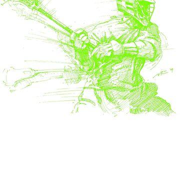 Crank (Neon Print) by vinniericasio