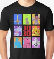 JoJo's Bizarre Adventure - Stands and Weapons Unisex T-Shirt