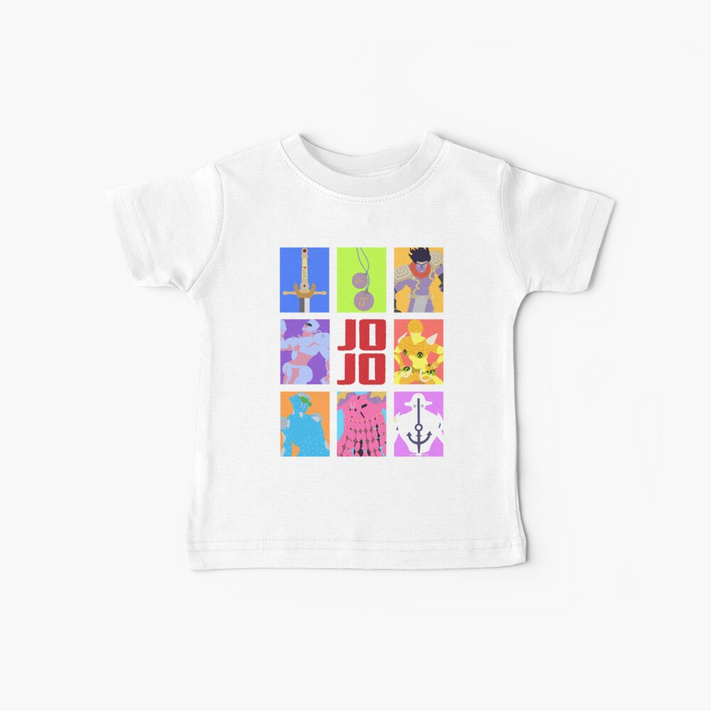 JoJos bizarres Abenteuer - Stände und Waffen Baby T-Shirt
