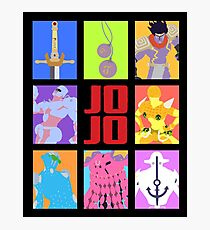 JoJo's Bizarre Adventure - Stands and Weapons Photographic Print