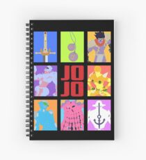 JoJo's Bizarre Adventure - Stands and Weapons Spiral Notebook