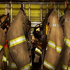 Firefighter - Bunker Gear by Michael Savad