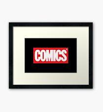 Comics Framed Print