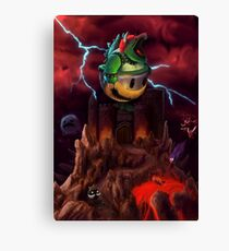 The Dystopian King Canvas Print