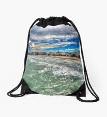 Garden City Beach Drawstring Bag