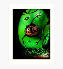 Pumpkin's Revenge Art Print