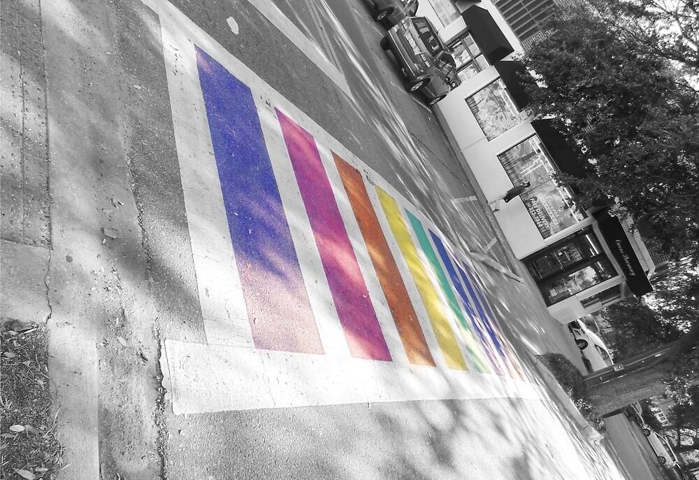 Rainbow Walk by edie-fel