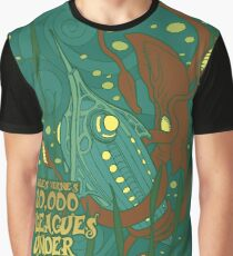 20,000 Leagues Under the Sea Graphic T-Shirt