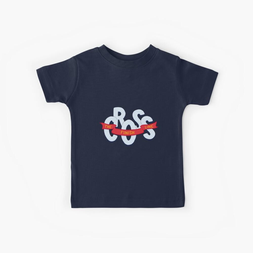 Cross the finish line Kids T-Shirt