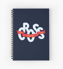 Cross the finish line Spiral Notebook