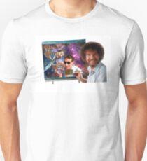 BILL NYE AND NEIL MY DUDE FT. THE OG BOB ROSS T-Shirt