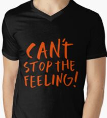 Justin Timberlake - Can't stop the feeling Men's V-Neck T-Shirt