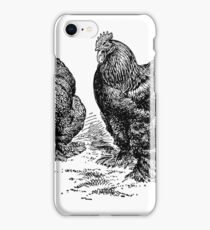 Partridge Cochins Chickens iPhone Case/Skin