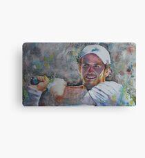 Andy Murray - Portrait 6 - V2 Canvas Print