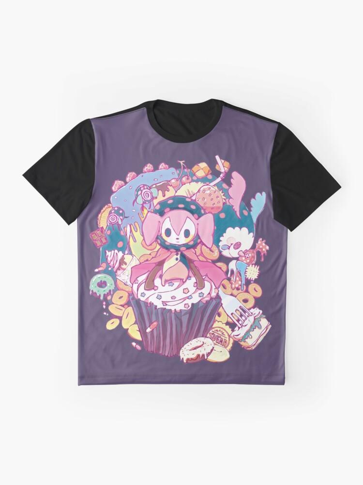 Alternative Ansicht von Puella Magi Madoka Magica - Charlotte und Freunde Grafik T-Shirt