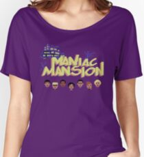 Gaming [C64] -  Maniac Mansion Women's Relaxed Fit T-Shirt