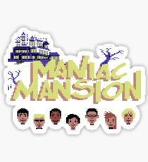 Gaming [C64] -  Maniac Mansion Sticker