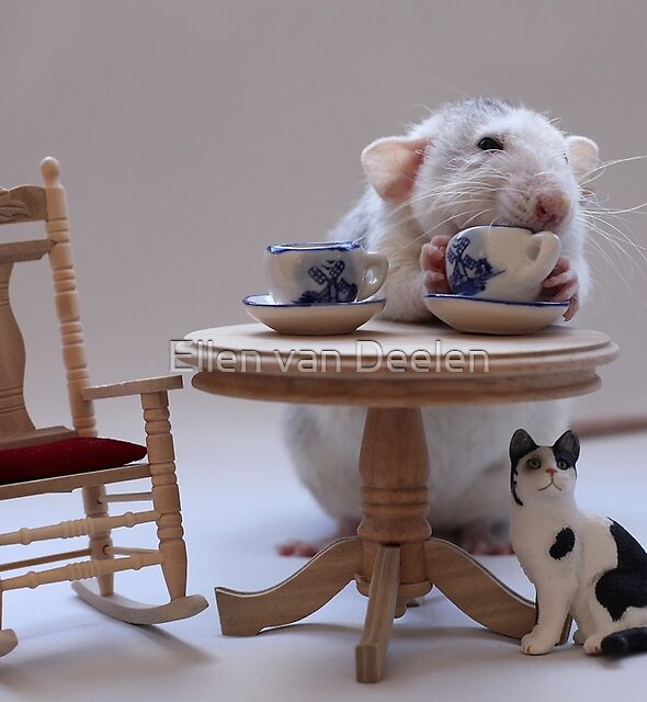 Tea-Time :) by Ellen van Deelen