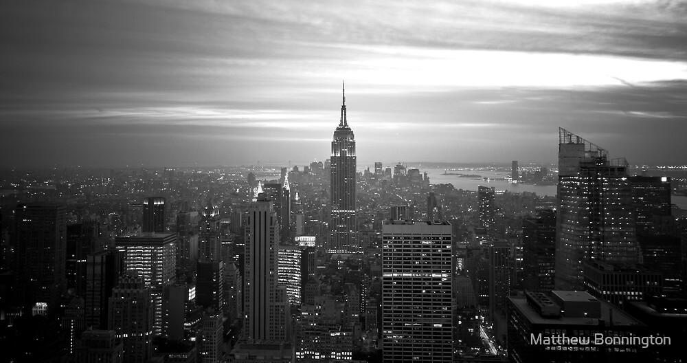 New York (h) by Matthew Bonnington