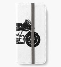 Ducati GP17 Desmosedici MotoGP Vélo Étui portefeuille/coque/skin iPhone