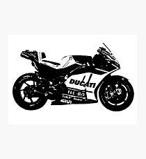 Ducati GP17 Desmosedici MotoGP Bike Photographic Print