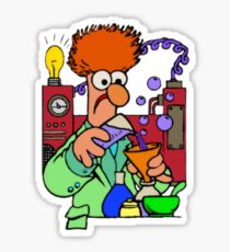 Beaker Sticker