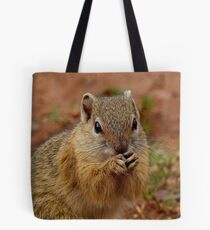 Say Your Prayers Before Breakfast - Ground Squirrel - SA Tote Bag
