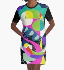 Squid No. 4 - Shapes Graphic T-Shirt Dress