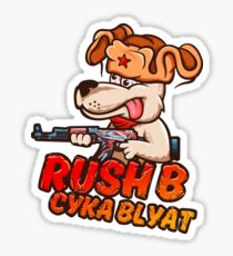 Rush B Cyka Blyat (CS:GO) Sticker