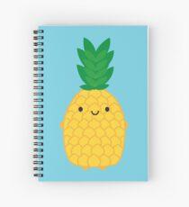 Kawaii Pineapple Spiral Notebook