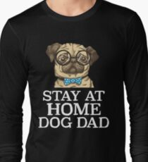 Stay At Home Dog Dad Dog Lover T-Shirt
