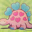 Stegosaurus by Sonya Craig