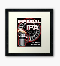 Dark Side Imperial IPA Framed Print