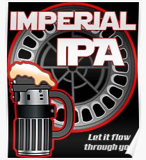 Dark Side Imperial IPA Poster