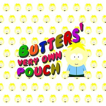 Butters very own pouch - South park by cthulupie