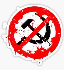anti-communist  Sticker