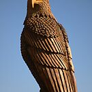 Wood Carved Eagle by TeeMack