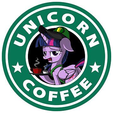 Unicorn Coffee by TeeGrayWolf