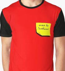 Reminder: Move to Scotland Graphic T-Shirt