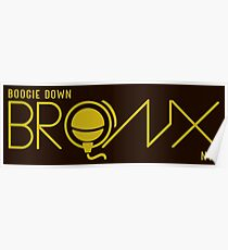 Boogie Down Bronx NYC Poster