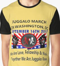 Juggalo March on Washington 9-16-2017 Graphic T-Shirt